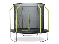 Plum 8ft Wave Springsafe Trampoline