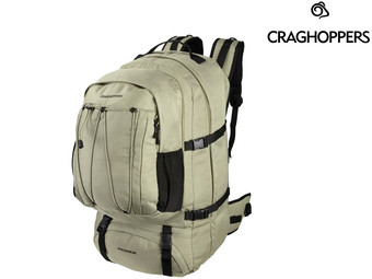 CraghoppersWorld Travel Rucksack, 65 Liter