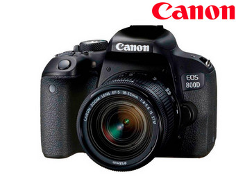 Canon EOS 800D Camera Incl. 18-55 mm STM Zoomlens