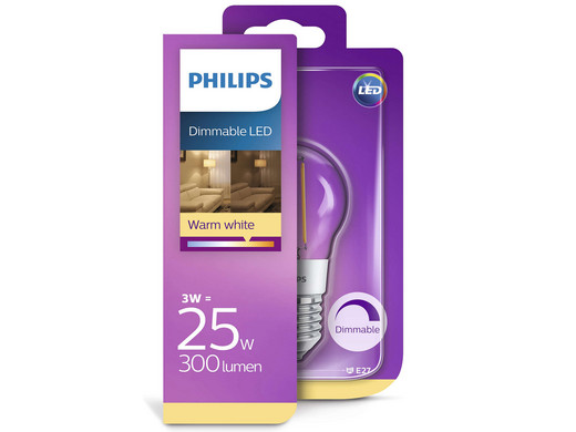 Led Lampen Philips : Philips led lampe dimmbar w w oder w w