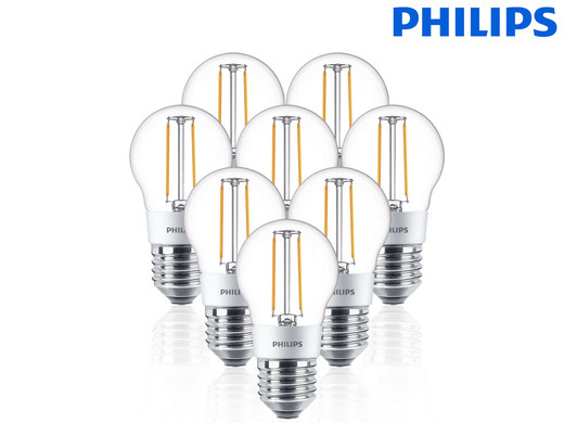 8x Philips LED-Lampe   Dimmbar   3W (25W) oder 5W (40W) - Internet\'s ...
