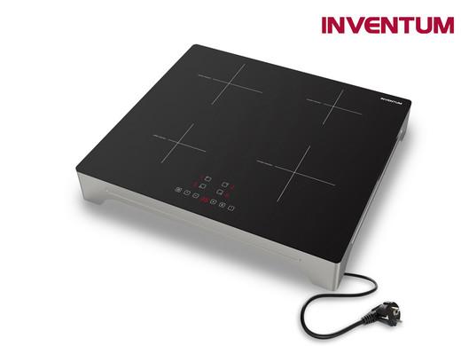 Inventum 1-fase Inductiekookplaat | Vrijstaand of Inbouw