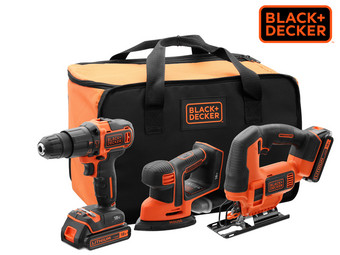 Black + Decker 18 V Powertool Combiset