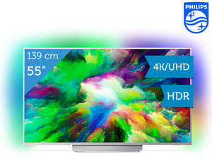"Philips 55"" 4K/UHD LED TV"