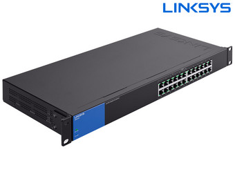 Linksys 24-Poorts Unmanaged Switch | Tot 1000 Mbps | LGS124-EU