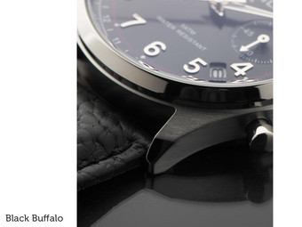 Chrono RVS Black Dial