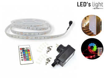 LED's Light Lichtkabel | 5 meter | IP67