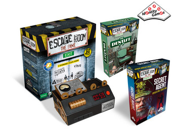 Escape Room Basisspel + The Dentist & Secret Agent