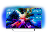 "Philips 49"" 4K Ultra HD LED TV"