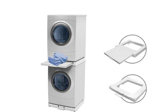 Stapelkitzubehör für waschmaschine und trockner mastershel oder