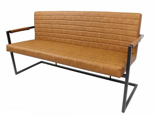 Vince Design Eetkamerbankje Bruut   Cognac - Internet\'s Best Online ...