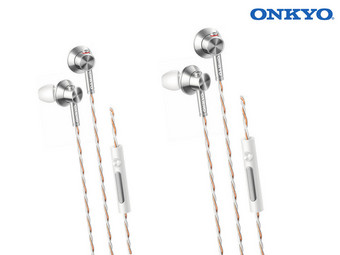 2 x Onkyo E700M In-Ears, Hi-Res Audio