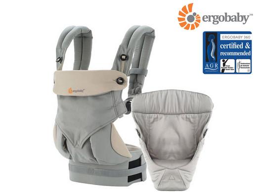 Dagaanbieding: Ergobaby 360 Draagzak incl. Verkleinkussen | Voor Baby's & Peuters