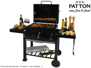 Grill węglowy Patton C2 Charcoal Chef Barbecue
