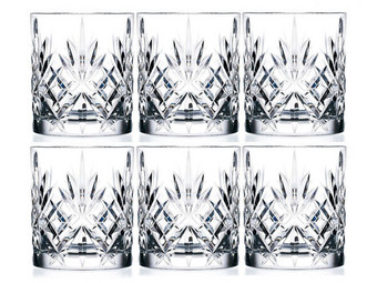 6x RCR Melodia Whiskeyglas (230 ml)
