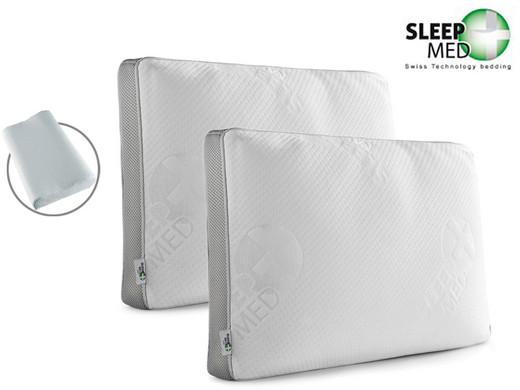Sleep Med Kussen : Sleepmed memory foam kussen keuzeoptie internet s best