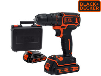 Black + Decker 18V Schroefboormachine