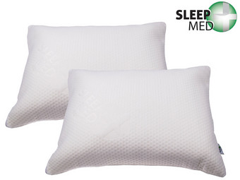 2x SleepMed Memoryschaumkissen