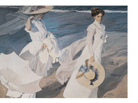 Walk on the Beach | Sorolla (60x80)