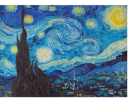 canvas de sterrennacht vincent gogh 60 x 80 cm