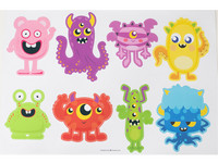 Muurstickers Monsters