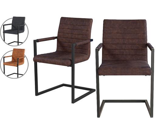 2x dutch furn modern swing eetkamerstoel internets best online