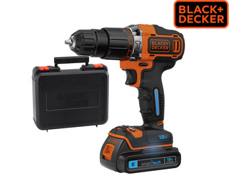 Black+Decker 18 V Smart Tech Accu Combiboor