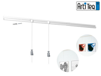 6x Artiteq Classic Rail All-In-One Ophangsysteem