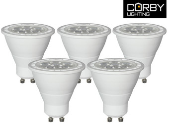 5x Corby Lighting LED GU10 (Dimbaar)
