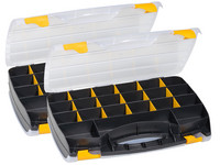 2x Allit EuroPlus Duo Toolbox