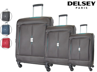 Delsey Passage Trolleyset | Set van 3