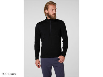 HH Merino 1/2 Rits Baselayer | Heren