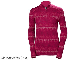 HH Mid Graphic 1/2 Rits Baselayer | Dames