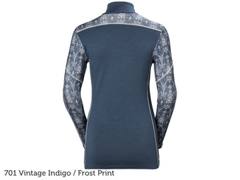 HH Graphic 1/2 Zip Baselayer | Dames