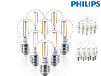 8x Philips LED-Lampen