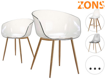 2x Zons Tracy Armchair