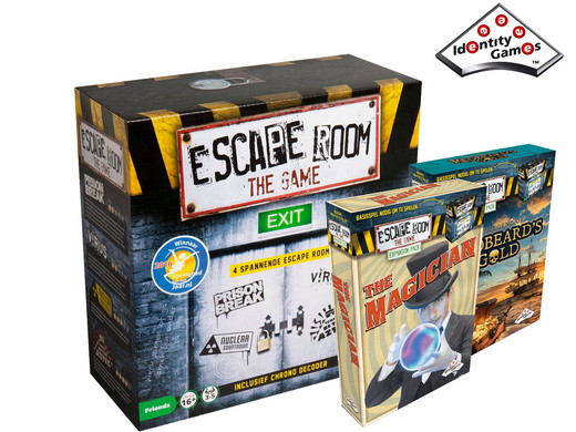 Dagaanbieding - Escape Room The Game Basisspel + The Magician + The Legend of Redbeard's Gold dagelijkse koopjes