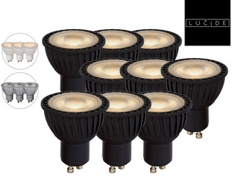 9x Lucide Dimbare LED (2700 K)