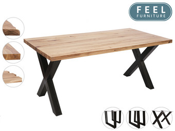 Feel Furniture Eetkamertafel Oak | 240 x 100 cm