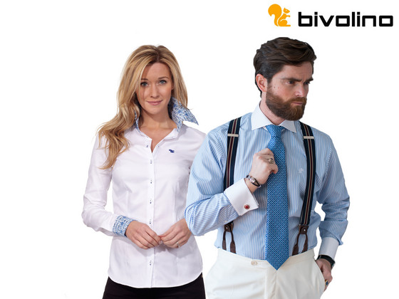 Voucher: Eigen Ontwerp Bivolino Overhemd of Blouse