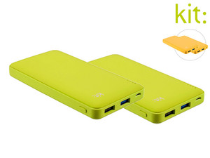 2x Powerbank Kit Fresh | 12.000 mAh