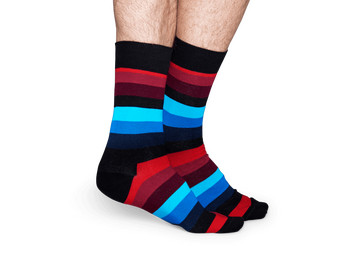 2x Happy Socks | Stripe 41-46