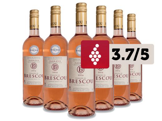6x Domaine De Brescou Fleur D Ete 2016 Grenache Pinot Noir