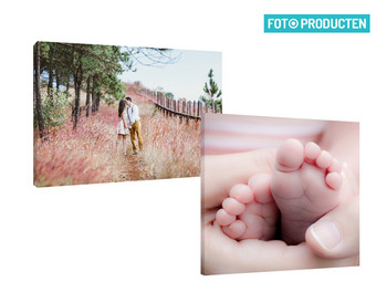 Voucher: Foto op Canvas | 50 x 50 of 60 x 40 cm