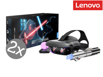 2x Lenovo Mirage: Star Wars Jedi Challenges Augmented Reality Set