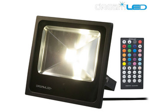 RGB+W LED Floodlight (30 Watt)