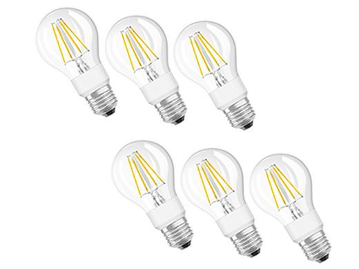 6x Osram Dimmbare Led Lampen Mit E27 Fassung Internet S Best