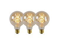 3x Lucide LED Lamp | G95 | 5 W