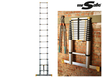 Mr Safe Telescopische Ladder | 4.6 m