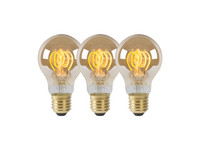 3x Lucide LED Lamp | A60 | 5 W